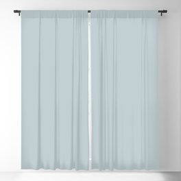 Ultra Light Pastel Blue Solid Color Pairs with Sherwin Williams 2020 Forecast Colors Sleepy Blue Blackout Curtain