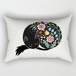 Flowercat Rectangular Pillow