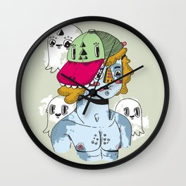 """""""Brill Bruisers"""" - by Jacob Livengood Wall Clock"""
