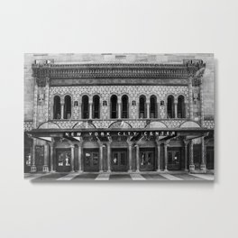 New York City Center. Metal Print