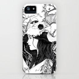 Nature goddess original iPhone Case