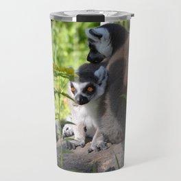 lemur eyes Travel Mug
