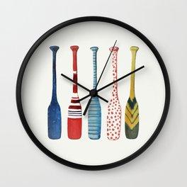 les rames Wall Clock