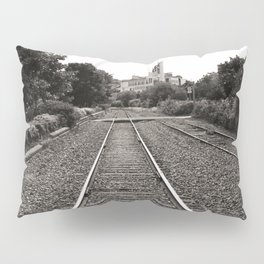 Railroad Tracks Pillow Sham