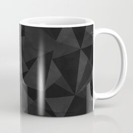 Dirty Dark Geo Coffee Mug