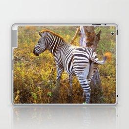 Zebra Sway Laptop & iPad Skin