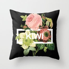 Harry Styles Kiwi Artwork Throw Pillow