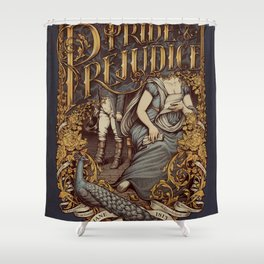 Pride and Prejudice Shower Curtain