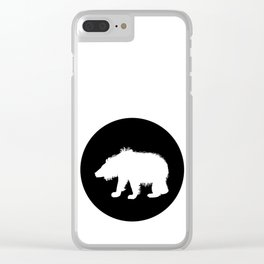 Sloth Bear Clear iPhone Case