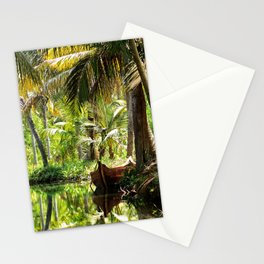 Green Oasis Stationery Cards
