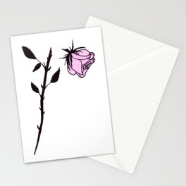 Beheaded Rose Stationery Cards
