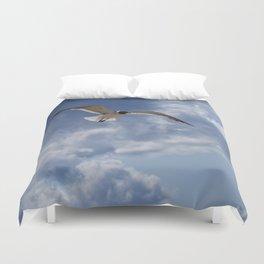 Solo Flight Duvet Cover