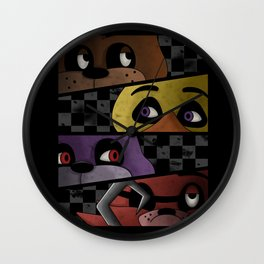 Freddy and Friends are Ready! Wall Clock