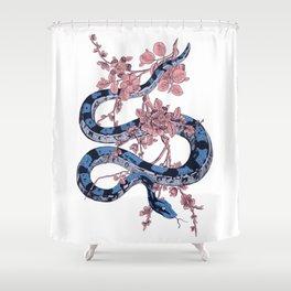 Jungle Snake Shower Curtain