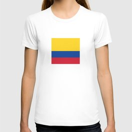 Flag of Colombia-Colombian,Bogota,Medellin,Marquez,america,south america,tropical,latine america T-shirt