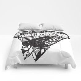 Psychoville black ink drawing Comforters
