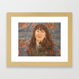 susie every morning Framed Art Print