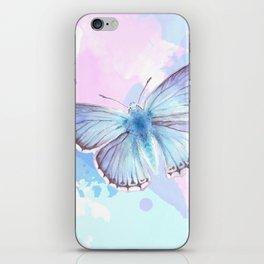 Blue Lagoon Splash iPhone Skin