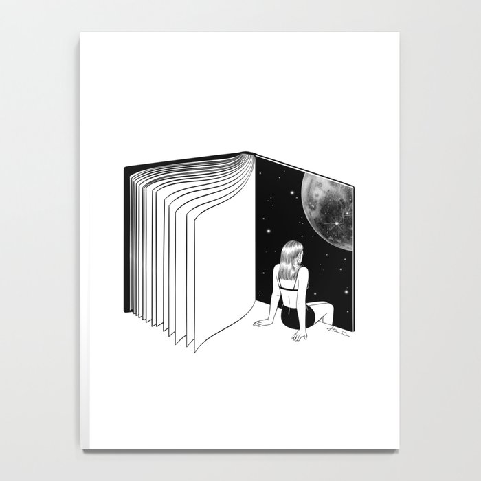 Reading is Dreaming with Your Eyes Open Notebook