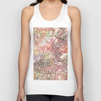mexico Tank Tops featuring Mexico by MapMapMaps.Watercolors