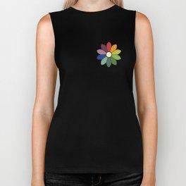 Flower pattern based on James Ward's Chromatic Circle Biker Tank