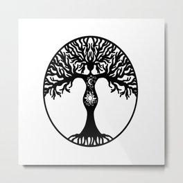 Goddess Tree Metal Print