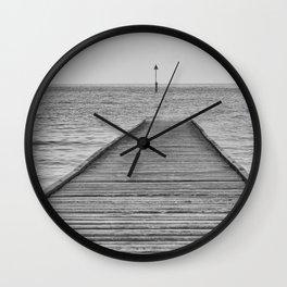 Dis a piering Wall Clock