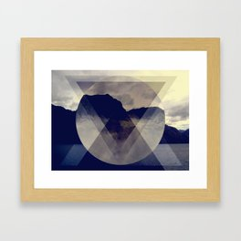 Hipster Hill Framed Art Print