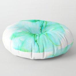 Green Goddess Energy Floor Pillow