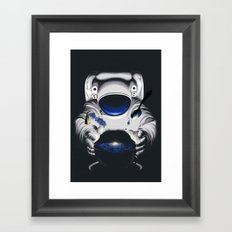 Cafe Galactica Framed Art Print