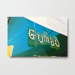Gumbo Metal Print