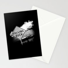 Falling (in love) Rocks Stationery Cards