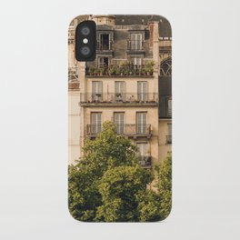 Sunny Paris iPhone Case