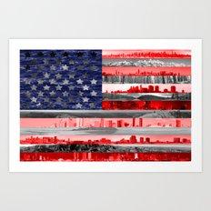 My America Art Print