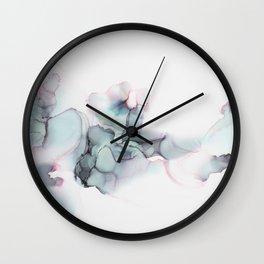 Abstract Alcohol Ink 6248 Wall Clock