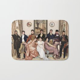 Pride and Prejudice and Werewolves Bath Mat