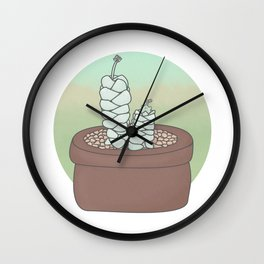 Crassula Deceptor Guardians Wall Clock