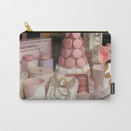 Pink macarons at Laduree Paris Carry-All Pouch