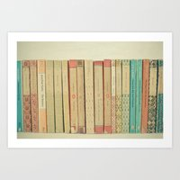 books Art Prints featuring Books by Cassia Beck
