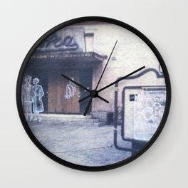 The city remembers; cinema Wall Clock