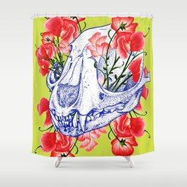 Deathvslife5 Shower Curtain