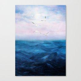 Watercolor Sea 5 Canvas Print