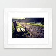 Paws for Thought Framed Art Print