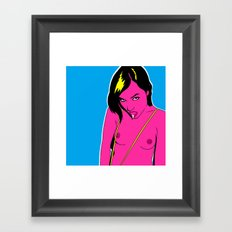 sg Framed Art Print