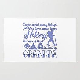 Hiking Grandpa Rug