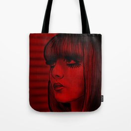 Red Doll Tote Bag