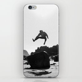 Beach Jump iPhone Skin
