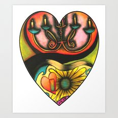 Happy Valentine's Day :) Art Print