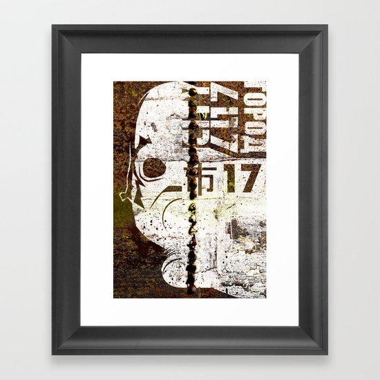 City 17 Framed Art Print