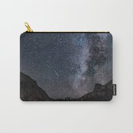 Perseid Over Sacagawea Peak Carry-All Pouch